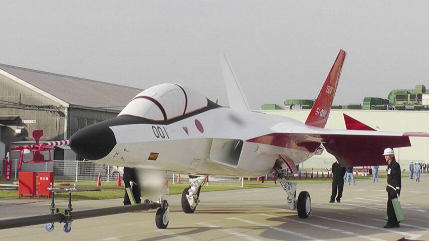 岐阜基地航空祭にX-2が展示される