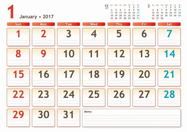 calendar201701