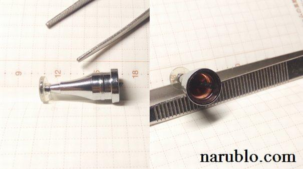 キャンドゥのタッチペンのペン先を修理