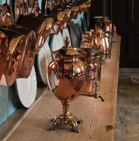 銅製のサモワール