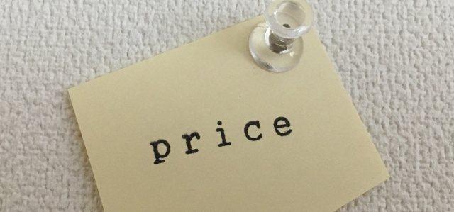 出店の時は値段はしっかり書いておく