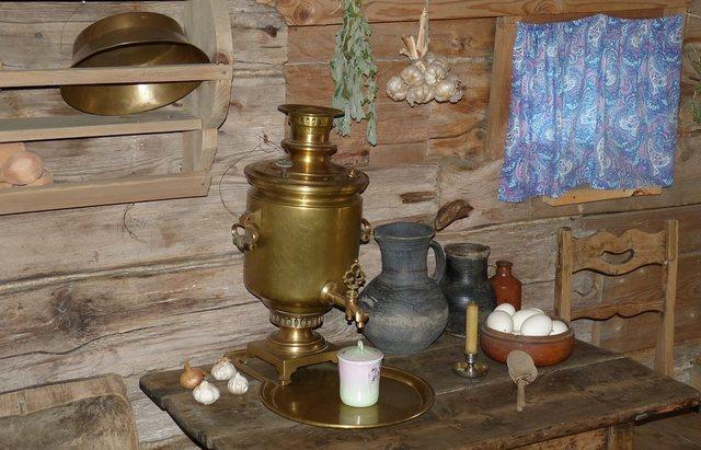 青銅のサモワール