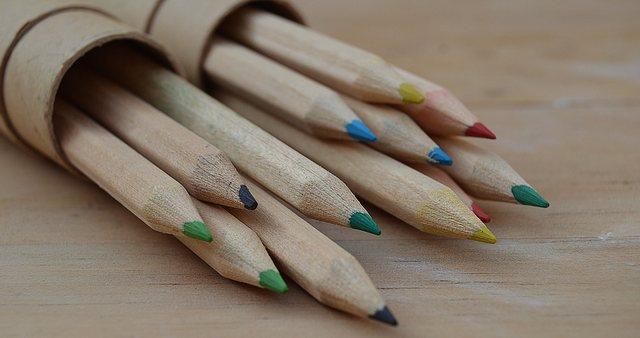色分けして書くことで記憶の定着を図る